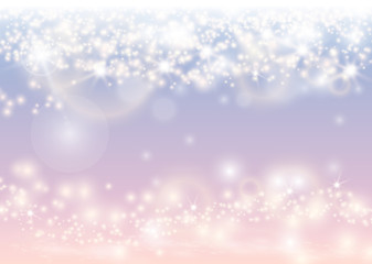 Abstract sparkling light glow background. Christmas shiny wallpaper