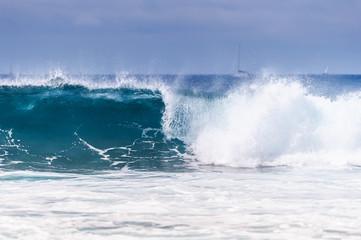 Blue wave Ocean