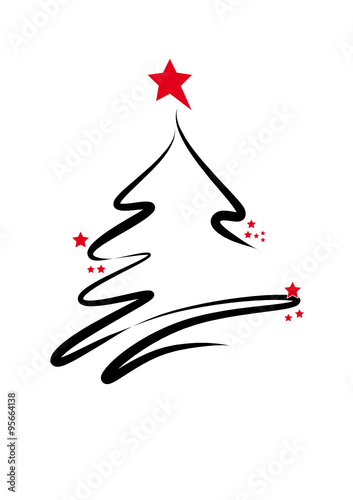 weihnachtsbaum mit sternen stockfotos und lizenzfreie. Black Bedroom Furniture Sets. Home Design Ideas
