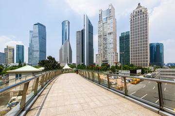 Photo sur Aluminium Los Angeles Shanghai urban landscape in China