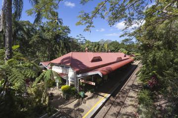 Australia Kuranda Train station
