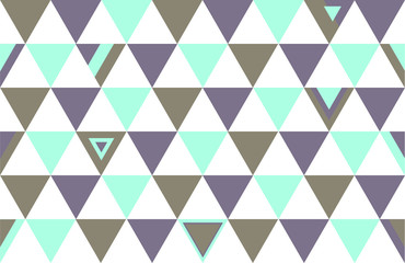 Canada Top Colors Background Triangle Polygon 2015 Vector Illustration