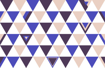 Japan Top Colors Background Triangle Polygon 2015 Vector Illustration