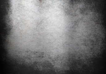 Wall Mural - grunge metal background or texture