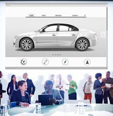 Car Automoblie Transportation Vehicle Elegance Concept