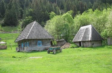 В гостях в уютной старой деревеньке