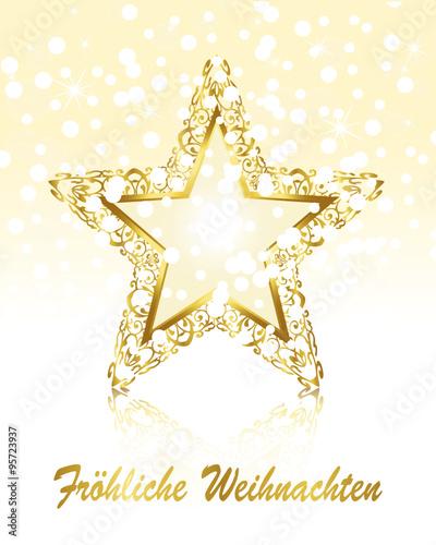 Stern Frohe Weihnachten.Weihnachtsstern Christstern Stern Weihnachtskarte Frohliche