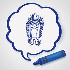 indian doodle