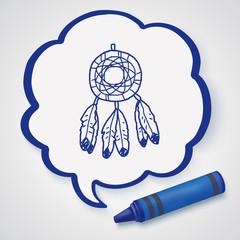 Dreamcatcher doodle