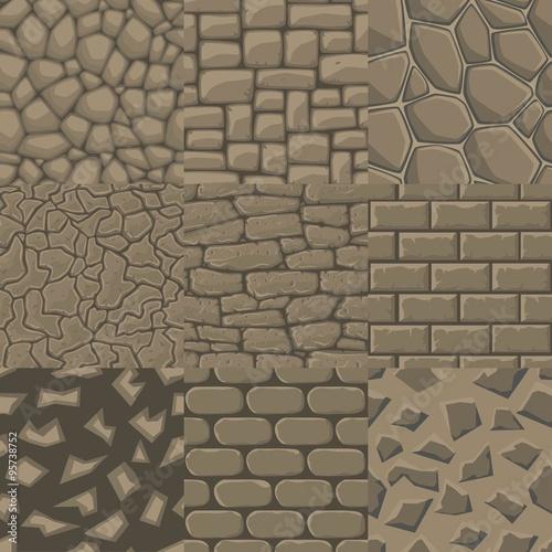 cartoon square stones texture - photo #35