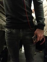 Ragazzo in metropolitana