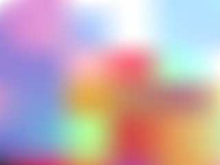 Colorful abstract unfocused background. Bokeh. Blurry backdrop. Vector illustration.