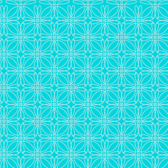 Geometric seamless pattern. This ornament may be used for design of cards, tablecloth, cloth, bedlinen, etc. Vector illustration.