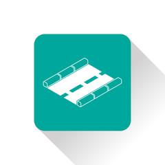 road isometric 3d icon