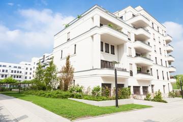 Neubauviertel, Wohnungen in Deutschland