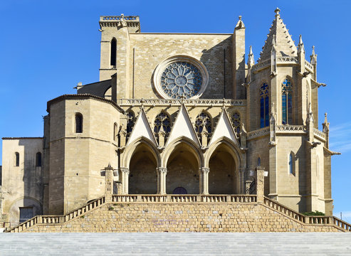 Collegiate Basilica of Santa Maria in Manresa, Spain