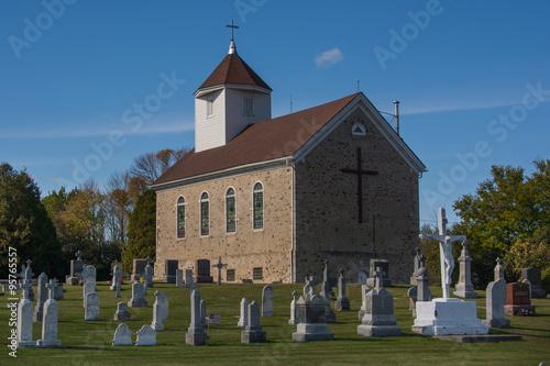 Wall mural Country Church