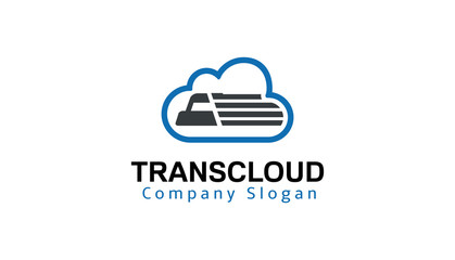 Transport cloud Design Illustration