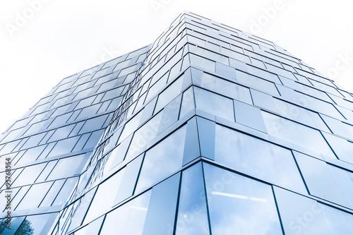 Glasfassade textur  modernes Hochhaus - Glasfassade