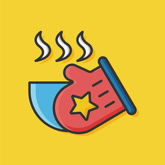 kitchen glove icon