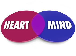Heart and Mind Venn Diagram Logic Vs Emotion