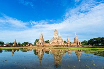 Temple Wat Chai Watthnaram in Ayutthaya