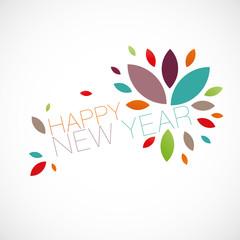 nouvel an,carte design