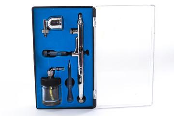 set for airbrushing