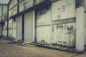 warehouse an abandoned