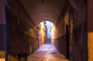 Street in Marrakesh, Morocco