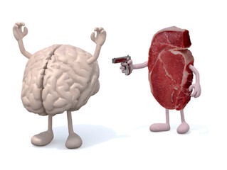 killer steak vs brain