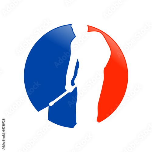 pressure washing cleaning services logo icon pin template stock