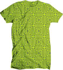 hard contour chartreuse shirt