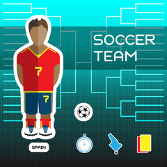 Spain Soccer Team