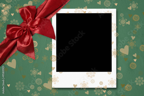 One Instant Empty Photo Frame Template