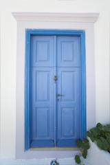 door of a house