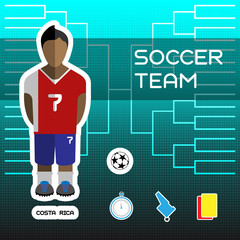 Costa Rica Soccer Team