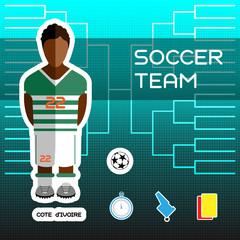 Cote d'Ivoire Soccer Team