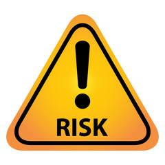 Risk danger sign