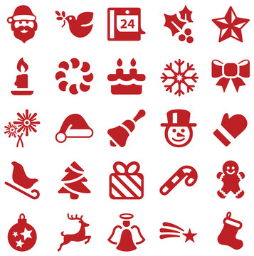 Christmas Iconset red