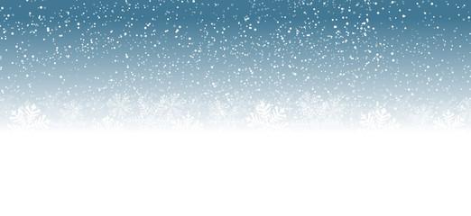 blue christmas background snowflakes