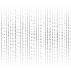Binary Code Background.