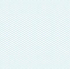 Empty Seamless Isometric Grid Pattern