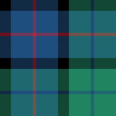 flower of scotland tartan seamless pattern fabric texture