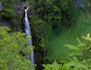 Makahiku Falls - Haleakala National Park, Maui, Hawaii