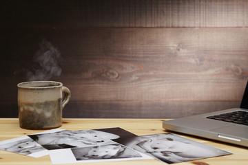 写真整理とコーヒー