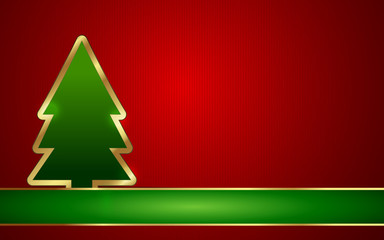 Vector / EPS. Background for Christmas Celebrations.