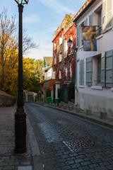 Musée de Montmartre en Auomne