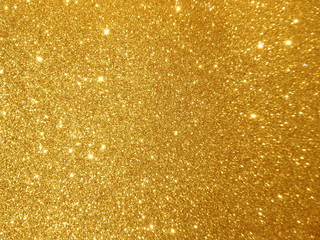 abstract golden twinkle background