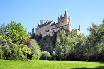Wall Mural - Castle of Segovia
